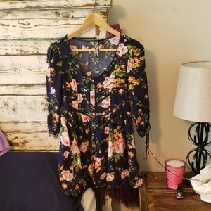 Feathers floral summer dress